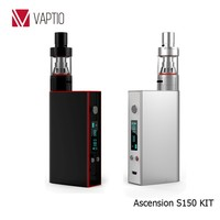 China product Vaptio S150 150W variable watts glass hookah nargile with led screen display