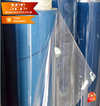 super glossy pvc transparent flexible roll 0.5mm thick clear transparent pvc