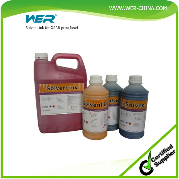 Solvent base Xaar 128 printhead solvent ink