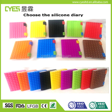 Free sample good quality cheap price made in china silicone notebook cover