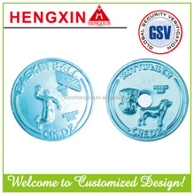 commemorative anodized aluminium coin