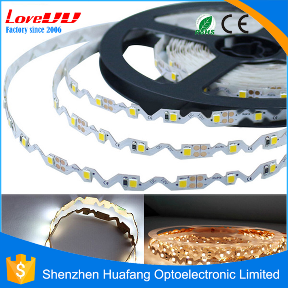 Free sample acrylic LED block letter S Shape IP65 bendable waterproof led strip