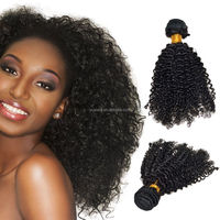 "113g/piece 12'-20"" in stock puff afro kinky curly hair for braiding 4b-4c natural hair no tangle no shed raw virgin Hair Weave"