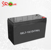 12V 7AH rechargeable glue battery/solar energy charge battery