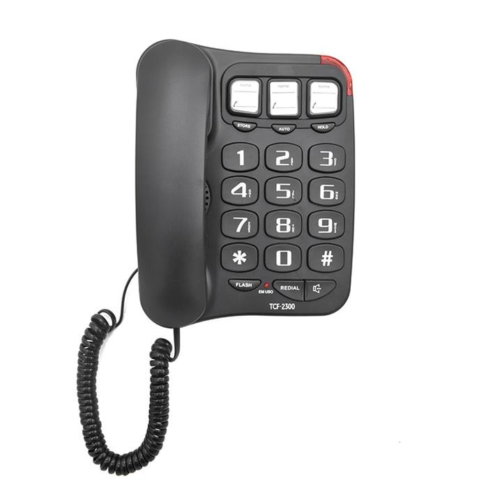 3 groups one-touch memories big button speaker phone for elderly used (TM-PA026)