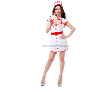 Ultra Sexy White Nurse Lingerie Night Abstinence Nurse Couple Games Cosplay Short Dress