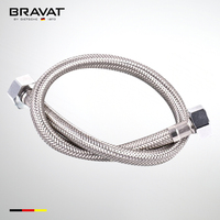 stainless steel wire braid flexible plumbing hose P61117C