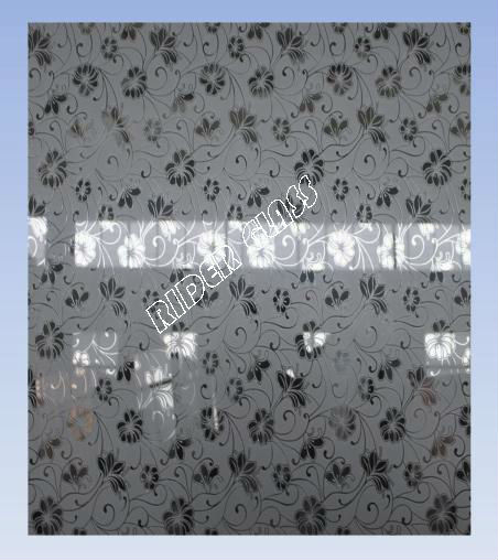 4-12mm Dreams Flowers Deep Acid Etched Glass with CE & ISO9001