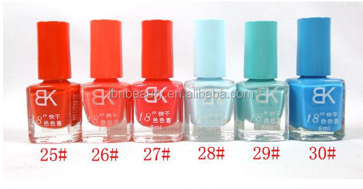 nail supplier selling colorful nail polish with chear price