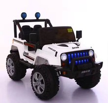 Factory Directly Creative Design Fashion Cool Easy Remote Control Cross Country Jeep Electric Toy Car For Children