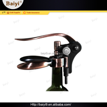 Professional rabbit zinc alloy wine corkscrew with plastic coated