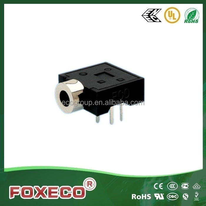 hot sale audio & video 3.5mm female horizontal phone jack connector