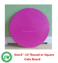 "Cake Boards/Cake Base Round Red 6""-13"" Decoration Displays, Wedding, Birthdays Party"