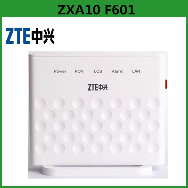 ZTE F601 GPON ONU EPON ONU For Fiber Optic Network Router