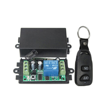 1CH DC 12V 433MHz Wireless RF Remote Control Relay Switch Transmitter+Receiver