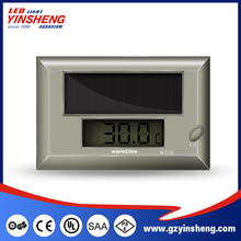 Environmental and free from contamination Aquarium Solar Digital Thermometer