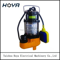V180F 180w electric single phase centrifugal mini sewage drainage submersible water pump submersible sewage electric water pump
