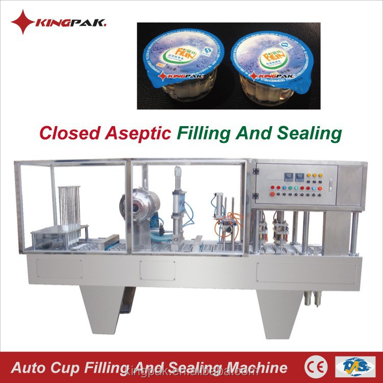 BG60A Closed Aseptic Jelly Ice Plastic Cup Filling Sealing Machine