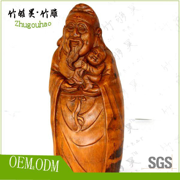 Root carving art collection bamboo art crafts