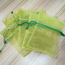 Cheap useful large organza tea bag wholesale