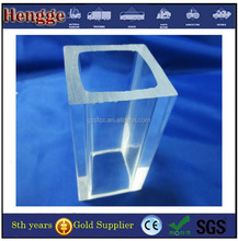 Transparent hollow extrusion round and square acrylic tube