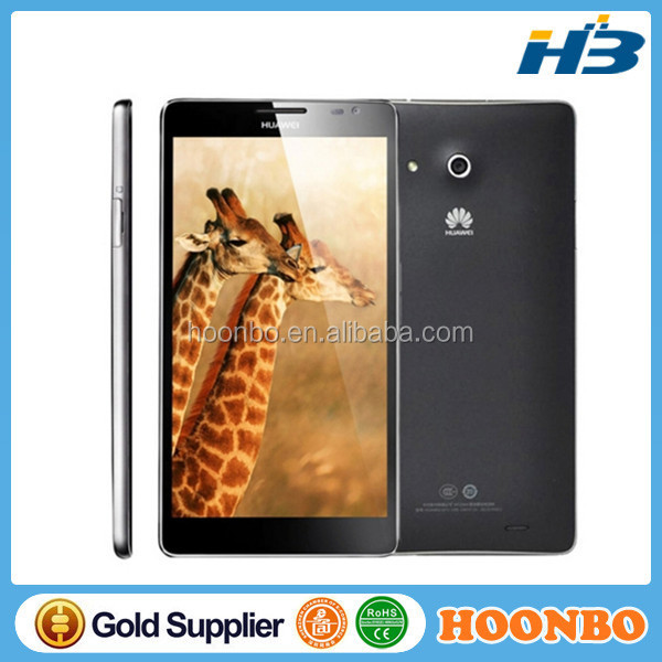 Original Huawei Ascend Mate MT1-U06 8GB ROM 2GB RAM Huawei K3V2 Quad Core 1.5GHz Android 4.1 Smart Phone 6.1 inch IPS WCDMA GSM
