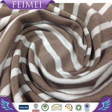 2015 Feimei Knitting Cotton Polyester Fabric shiny suit fabric suppliers