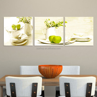 Dinning roon modern art popular painting 3d abstract oil painting on canvas handmade