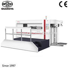 LK1450 manual and automatic paper color carton box die cutting making machine