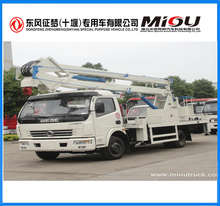 190hp aerial bucket truck Euro 3 best quality high Aerial Bucket Truck For sale