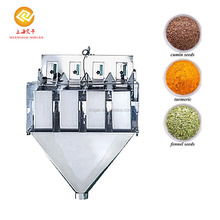 Best match automatic wasabi powder packing machines 4 head linear mix weigher