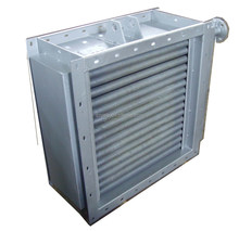 Steel fin tube heating heat exchanger for fish breeding and poultry raising industry