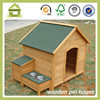 SDD0405 new wooden dog house with feeder