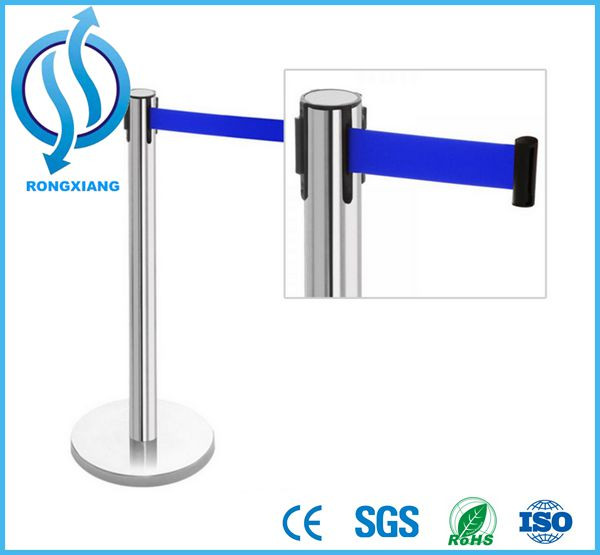 Double Tape Used Fence Retractable Belt Barrier
