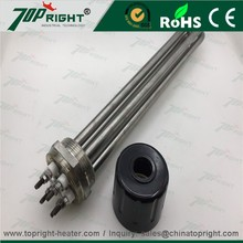 Inner thread heat-conducting oil boiler electric industrial tubular heating elements