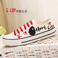 NO.D085 Hot sales high quality china women flat canvas shoes 2016