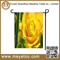Polyester High Quality Customize Garden Flag Stands