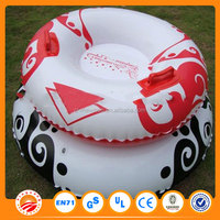 Hot sales cheap prices custom inflatable snow tube with Fabric cover