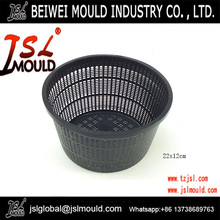 fine fill round plastic aquatic pond plant basket injection mould