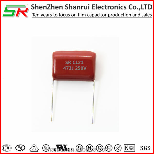 CL21 Film capacitor 47uF 473j 250V