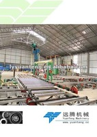 gypsum board making machinery with small capacity 2million sqm
