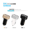 6.6A 33W Portable Travel Charger Rapid 3 USB Ports Car Charger Smart Sharing IC For Tablets