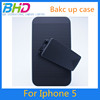 New PC Back Cover Case with Kick Stand For iPhone 5