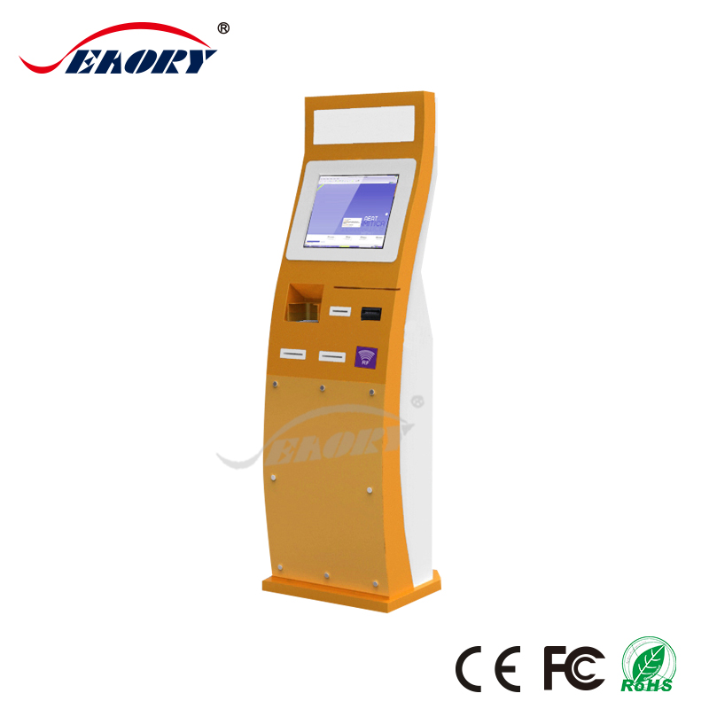 1D/2D Barcode Reader Lottery Exchange Kiosk Vending Machine Payment Terminals