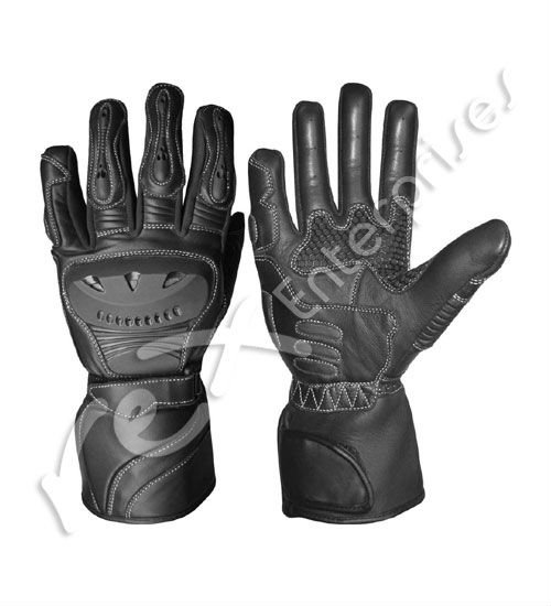 Leather Motorbike Motorcycle Racing Sports Gloves