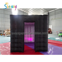 Sunway RGB LED Light Weding Party Tent , Cheap Inflatable Photo Booth For Sale