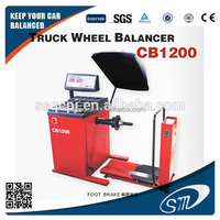 Truck Wheel Balancing Machine with CE/ 13''-24'' wheel balancing machine /Foot brake truck wheel balancing machine