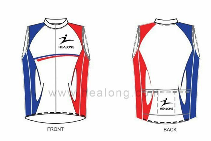 Healong 3D Sublimation Transfer Cheap Brand Pro Team Cycling Apparel