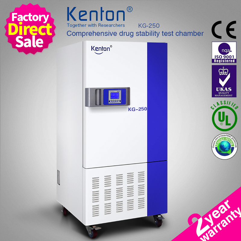 KG-250 High Efficiency Drug Stability Testing Chamber With Auto Defrost Function