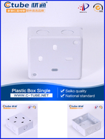 PVC Plastic electrical switch box cover mould